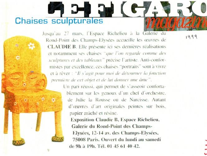 Annonce Figaro magazine 1999